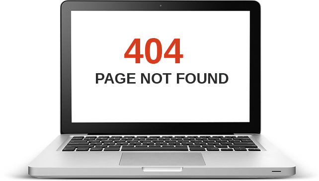 404 Page not found
