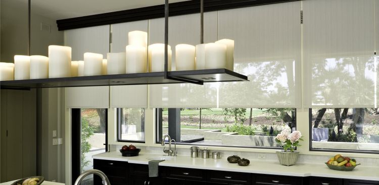 Contact us about installing roller shades in the Los Angeles area!