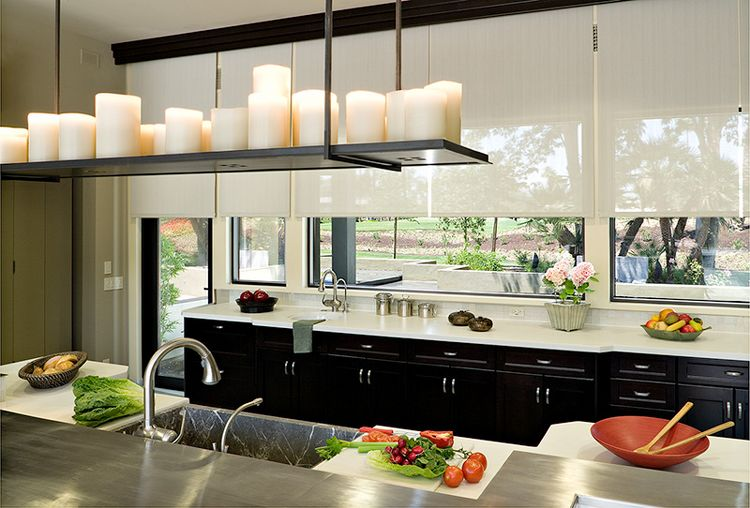 Roller Shades Roller Blackout Shades Accomplish A Stylish Look