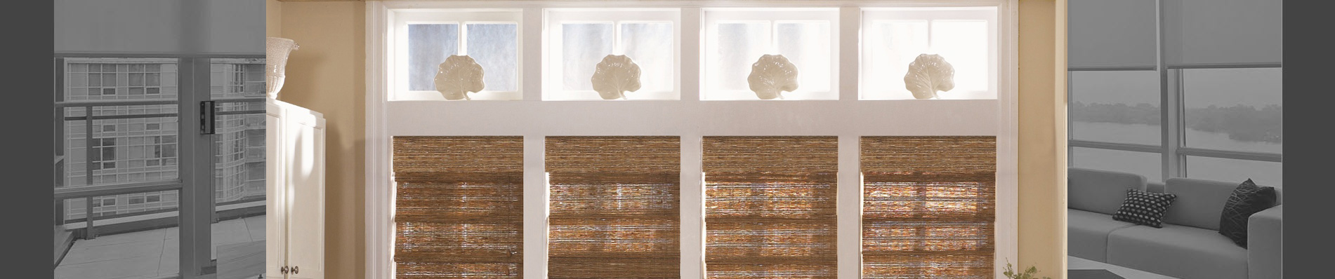 Batter operated roller shades are handmade to your exact specifications.