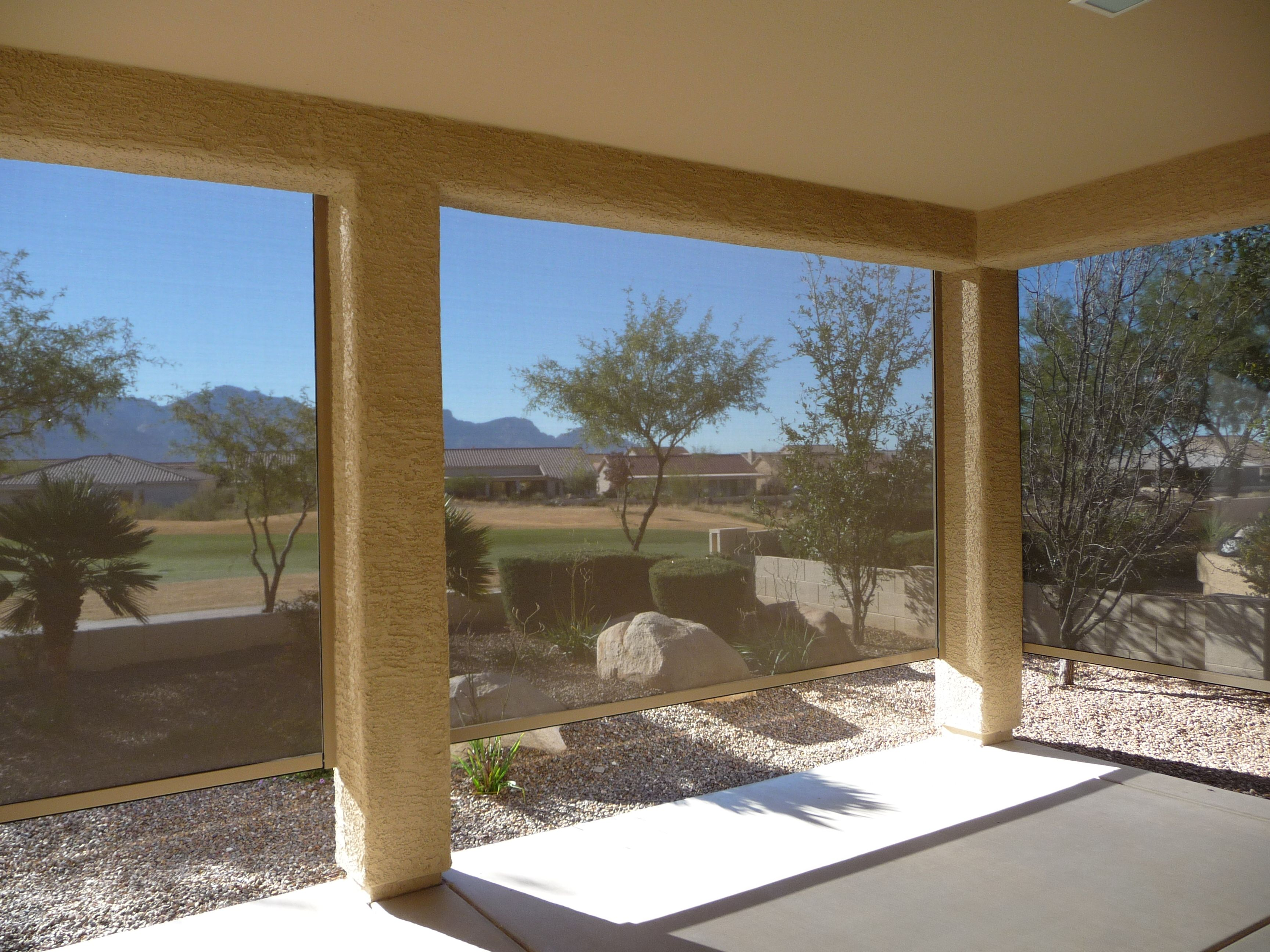 Gain security and privacy with Exterior Shades.